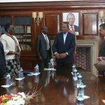 H.E @UKenyatta presides over new initiative to merge IGAD Peace Process & Arusha Peace Talks to stabilise South Sudan http://t.co/2Rh2hQcwG5