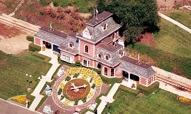 Michael Jackson's Neverland ranch is up for sale: