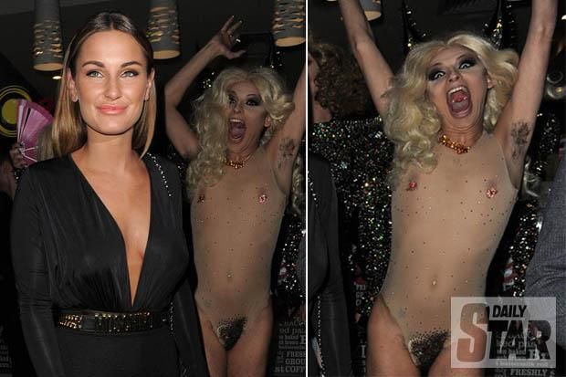Naked drag queen