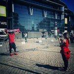 Já se começam a ver benfiquistas nas imediações do Estádio! #SejaOndeFor http://t.co/zsjP4jkX8W