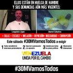 #30MVamosTodos en PAZ, vestidos de blanco, en Venezuela y el mundo http://t.co/Uxg2zpwElq @vamostodosxvzla http://t.co/pxnC44hIKr