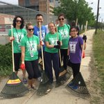 #Newmarket cleanup with @NewmarketBoston, @FredHopeHouse, #Boston DPW, and BPHC. Looks great!#BostonShines http://t.co/HoFbxpV1lv