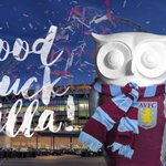 Good Luck @AVFCOfficial for the #FACup final at #Wembley this Saturday. #AVFC #TheBigHoot2015 http://t.co/yYtOUKEXrx