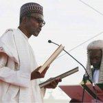 Winner of Nigerias presidential election, Muhammadu Buhari, is sworn in as leader http://t.co/UEirLy7NQR http://t.co/vwtjg20JHH