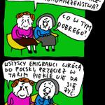 Koniec Wielkiej Emigracji http://t.co/WyT118yfsV #andrzejrysuje #rysunek #komiks #satyra http://t.co/hUAv4TEcji