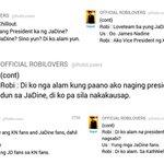 """Sa KathNiel ako"" VICE PRESIDENT Robi Domingo ???????????? Loyal siya. ???? #KathNielForever. #PSYAngPaninindigan -???? http://t.co/wOmpffdNgC"