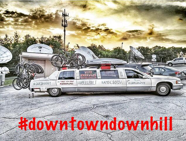 I'm going to be in the #SoKnoLimo on the #downtowndownhill #BellBuilt campaign trail all day. Stay tuned! http://t.co/YRkmfRngJN