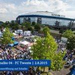 Vormerken: Der #S04 lädt den @fctwente am 2.8. zur großen Saisoneröffnung auf #Schalke ein. http://t.co/Uvn06UYVg0 http://t.co/f8lAU1pv3e