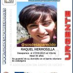 #Ayúdanos a localizar a Raquel, #desaparecida en #Vitoria Si la ves avisa a @ertzaintzaEJGV, 112 o 062 #Gracias http://t.co/kfxkzd45XZ