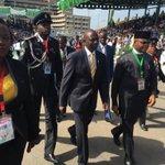 "RT""@WilliamsRuto: At Eagle Square, Abuja during the inauguration of Nigerian President Muhammadu Buhari. http://t.co/Pvahk2MBYq"""