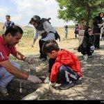 جمعآوری ته سیگار توسط رفتگران طبیعت در مشهد http://t.co/lb7TLhUV2C