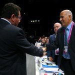 FA Presidents of Israel and Palestine shake hands @ #FIFACongress http://t.co/4RO17gKPr1
