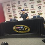 NEXT UP: @JimmieJohnson in the Media Center at the @MonsterMile! http://t.co/vKH1Irs4wX