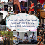 Enjoy free #music throughout the summer with BPLs #Concerts in the Courtyard series: http://t.co/TMAi2Lc0bF #Boston http://t.co/2jUkxDFEIh