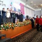 Se entona Himno Nacional en 2da Jornada Nacional de Encuentros Deportivos, Artísticos y Culturales del @SnteNacional http://t.co/b1vBk14Vab
