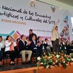 Gobernador @Paco_Olvera presente en 2da Jornada Nacional de  Encuentros Deportivos del @SnteNacional http://t.co/qkXEioNkGk