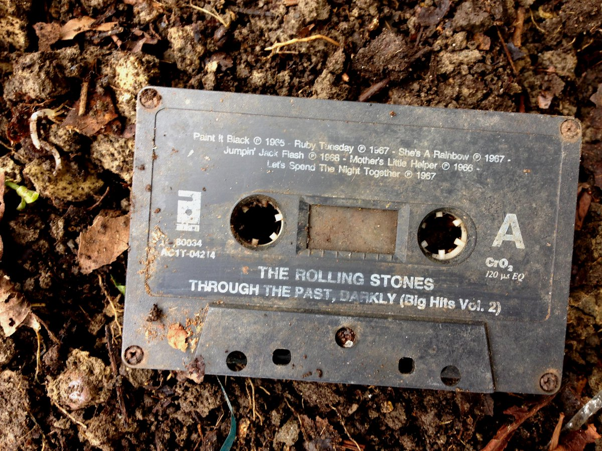 An ancient artifact was dug up in #FrickPark today.  #throughthepast #stoneage http://t.co/lgwjNdaTs6