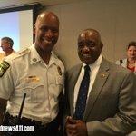 #MBTA Transit Police Chief Green & @TSA Administrator Carraway discuss the great partnership both agencies share. http://t.co/wPf0ggr5S1