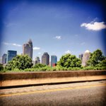 I captured this beautiful shot of uptown #Charlotte. #uptown #queencity #beautiful @wxbrad @VickiGrafWSOC9 http://t.co/IGhLsX5IZf
