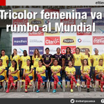 Tricolor femenina va rumbo al Mundial- #Ecuador http://t.co/zHLPxB1XfZ vía @eltiempocuenca http://t.co/5UGsYDMPdm