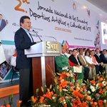 Más de 200 mil integrantes del @SnteNacional participan en 2da Jornada de Encuentros: Juan Díaz de la Torre. http://t.co/jYy4Q8RY4L