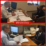 #FDNYHS seniors are completing job interviews at HQ in #Brooklyn as part of their Job Readiness Class Final Exam. http://t.co/gU5Fz4hmbS