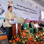 El Gobernador @Paco_Olvera agradece la confianza del @SnteNacional para elegir a #Hidalgo como sede de Encuentro. http://t.co/9ozP0MTo72