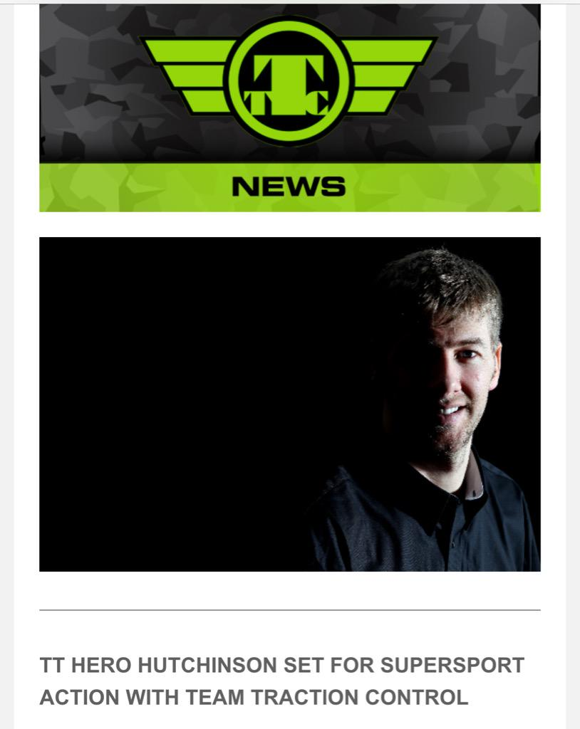 We are ecstatic to have @tweethutchy on board for the @iom_tt  .. http://t.co/SxBt2CVNHU http://t.co/U93fuobPRr