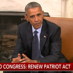 WATCH NOW: Pres. Obama meets with AG Loretta Lynch to discuss Patriot Act expiration http://t.co/pdFmBMB9Ib http://t.co/T3mqt2AwBa