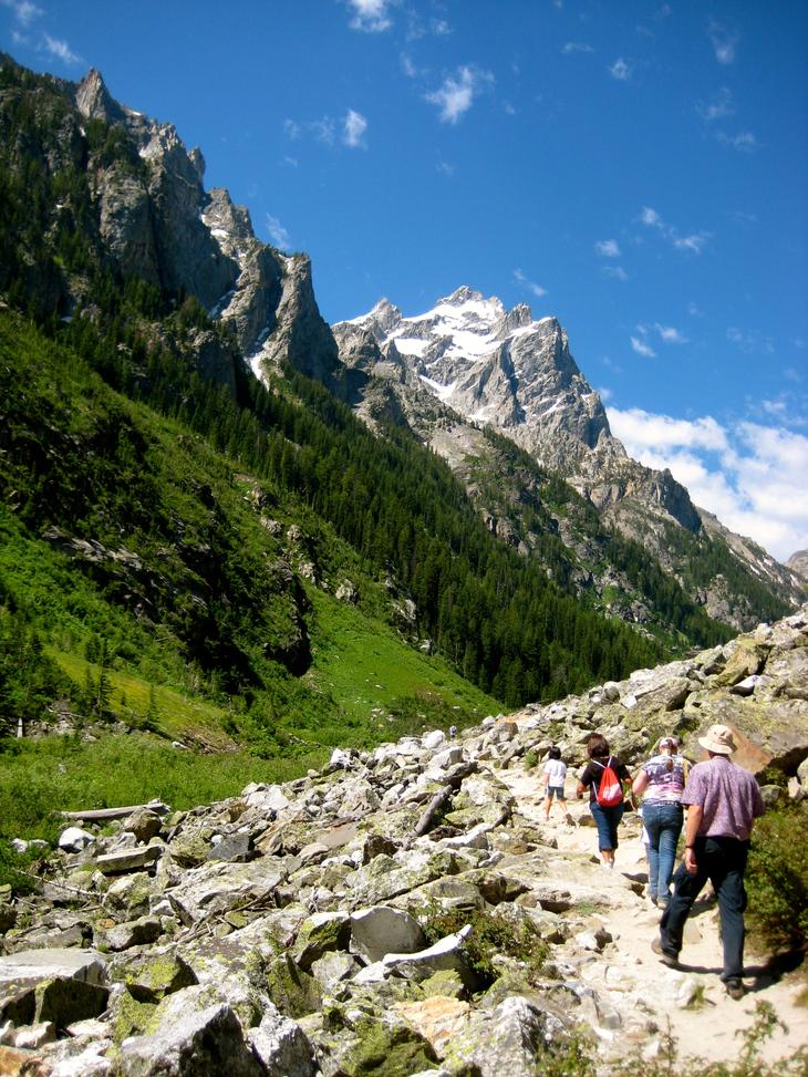 RT @hitRECord: A family sets out on foot in the mountains of @GrandTetonNPS. http://t.co/9O9FGeZhOA    #FindYourPark http://t.co/IIISLnBlMU