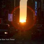 Are you watching #Manhattanhenge tonight? Share your Instagram photos http://t.co/NkSdQyG0Kq http://t.co/T536YRwTKk