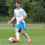 Die #U19 präsentiert heute das neue #S04-Auswärtstrikot. #schmiede #Schalke http://t.co/LMVm26RMol