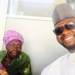 #NewNigeria it was heartwarming to meet Hajia Mai Talle Tara who donated her savings of 1 million Naira to @mbuhari http://t.co/K0AKVxqrTZ