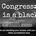14k sites #BlackoutCongress, redirect to naked protest pics to #SunsetThePatriotAct http://t.co/Mk1faxj5fQ http://t.co/RsLj7mrkVQ @idltweets