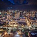 Beautiful Nairobi at night. ~@samdave69 http://t.co/tuD1si6eso