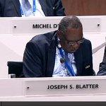Die vielen Gesichter des Joseph S. Blatter..? #FIFA #FIFACongress http://t.co/LqlrjyrQOr