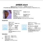#BREAKING #AmberAlert issued for 10-week-old #Knoxville baby girl follow @6News for updates http://t.co/TdNOWAD8dZ