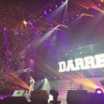Congrats to Darren & all the Darrenatics ???? We made it possible!!! ???? http://t.co/J1dvytbEi8