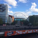 @tmWare have arrived at Wembley in plenty of time to cheer on @AVFCOfficial tomorrow! #utv #logistics http://t.co/hsaS4MExDx