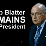 Sepp Blatter remains as #FIFA President after Prince Ali withdraws from 2nd voting round Live http://t.co/UQMSd5TKbb http://t.co/J6l9IiX9ty