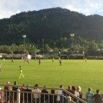 19:33 Uhr, Ankick in Kitzbühel! #wirpackendas #SVAS http://t.co/Z669qYpFvP