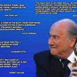 Sepp Blatters supporters have had their say on his re-election. #FIFACongress http://t.co/O6o781TwIk