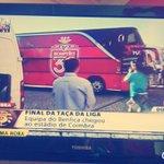 O autocarro do Benfica já chegou a Coimbra.. Benfica melhor se sempre #CarregaBenfica #TacaDaLiga #rumo34 ???????????????????????????????? http://t.co/lmJqEtii3q