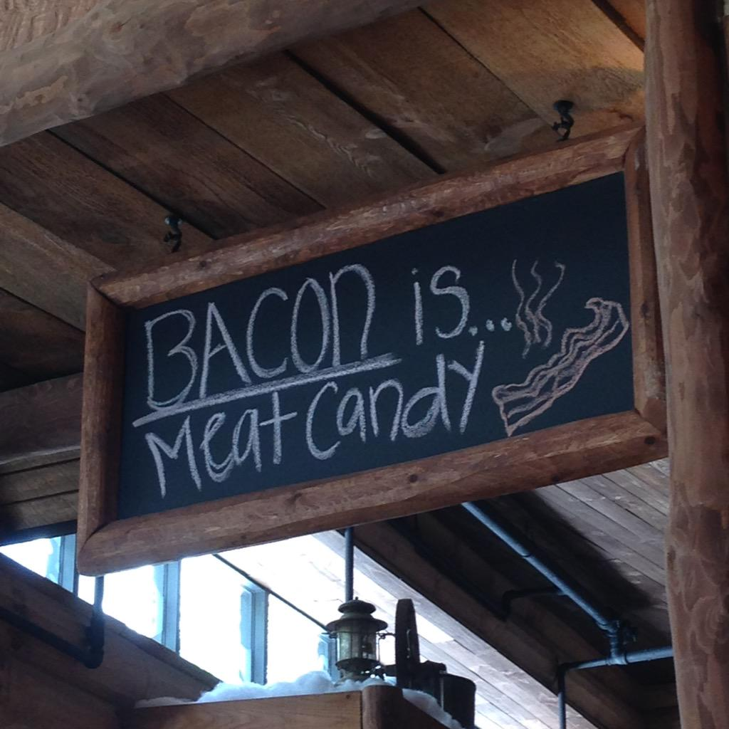 True that! @frankdecaroshow @LoniLove  #Bacon http://t.co/FyO3Y6FvLE