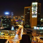 Beautiful Nairobi at night. ~@Erico5667 http://t.co/MHrrVENqTH