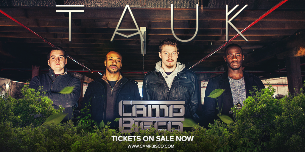 ARTIST ANNOUNCEMENT: @TAUKband - Welcome to the #CampBisco 2015 line-up! Tix & info >> http://t.co/ESrWIUxCs2 http://t.co/2XMcgM7TD9