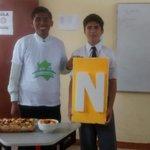Alumnos del Colegio Adventista Bagua #MPN participan de una taller  sobre #Nutrición #ADELANTE #PeruSaludable http://t.co/iXKEbBbC7G