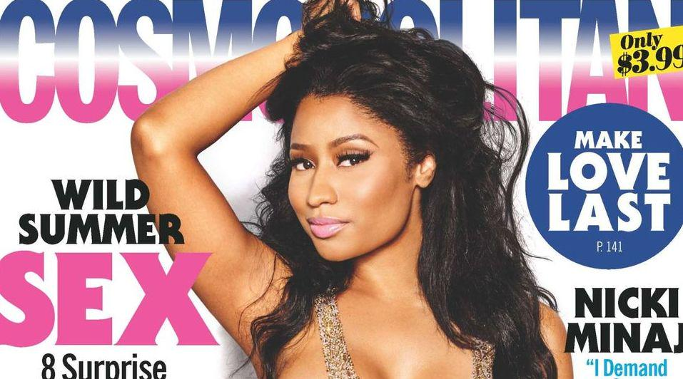 RT @Cosmopolitan: Say hello to our July cover star, @NICKIMINAJ! ???????????? Get a sneak peak at the interview here: http://t.co/7KXmrMxYic http://…