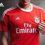 Esta é a nossa mais nova camisola 2015/2016! Simples e linda! #CarregaBenfica #Benfica #adidas #FlyEmirates http://t.co/gevv5ZGFkB