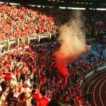 Benfiquistas no Estádio Cidade de Coimbra. [via @Fabi3nn3] #slblive http://t.co/GcsSUpbpXk
